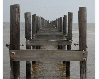 Abandoned Pier Photograph