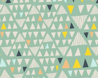 Morning Walk Collection, Mojave Aloe, Art Gallery Fabrics, By Leah Duncan, Nursery Fabric, One Yard, MW-2116
