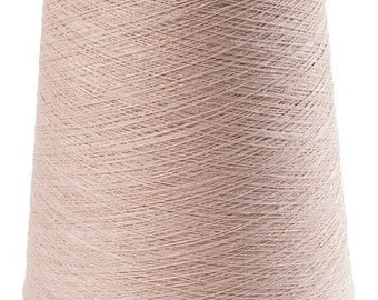1 kg/ 35oz 100% LINEN YARNS, Pale Pink Linen Yarns, high quality yarn