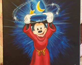 sorcerers apprentice Mickey mouse