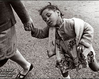 UGN Child, United Way assignment, Clyde Keller 1967 photo