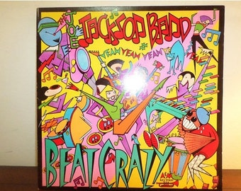 Vintage 1980 Vinyl LP Record Beat Crazy The Joe Jackson Band Near Mint Condition 11647
