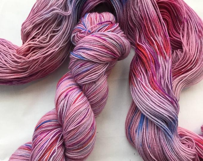 """Snow Day"" 100g Superwash Merino / Nylon Sock Yarn 4 ply"