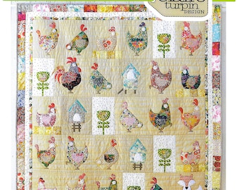 Pattern ''Hen House'' Applique Quilt Pattern by Claire Turpin (CT111)