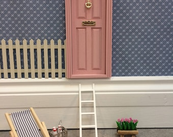 Fairy Door - Doll House Door hand painted