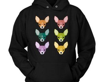 Chihuahua hoodie. Chihuahua Sweatshirt. Chihuahua Gift. Gift for Chihuahua. Birthday gift. Clothing for women or men