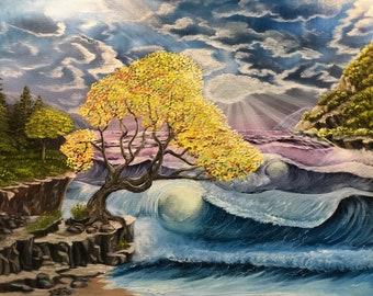 Tree of Light - original oil painting