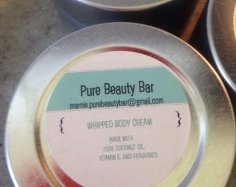 Whipped Body Cream