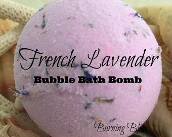 Relaxing FRENCH LAVENDER Bubble Bath Bomb,Bath Fizzie,Bubble Bar,Bubble Bath,Spa Bath Bomb