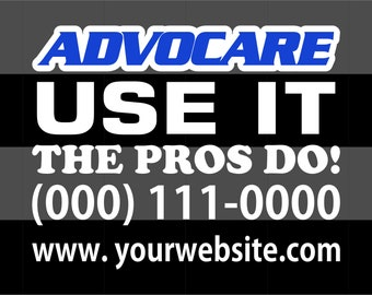 Advocare Car Decal Etsy - Advocare car decal stickers