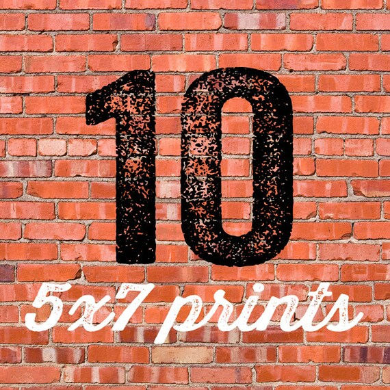10 Additional Prints READ DESCRIPTION BEFoRE PURCHASE