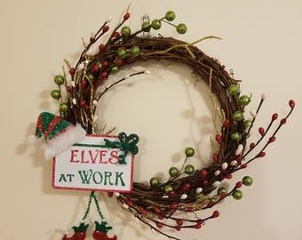 Mini Elf Wreath