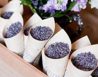 3 lbs. Lavender Wedding Toss, 3 pounds dried lavender, favor, decor, going-away toss