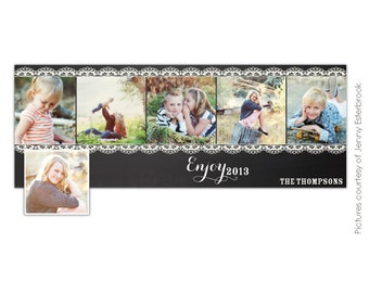 INSTANT DOWNLOAD - Psd New Year Facebook timeline cover - Photoshop template - E641