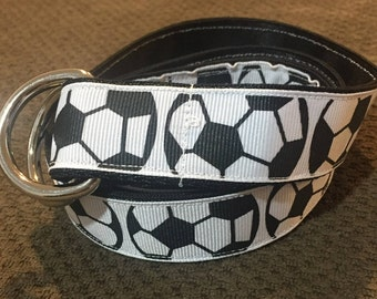 Soccer Ribbon Belt
