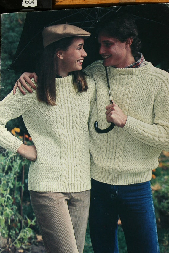Sweater Knitting Patterns Men Knit For Your Man Beehive Patons