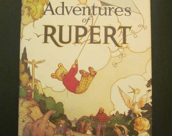 The New Adventures of Rupert Numbered Edition 10645 Facsimile 1985 from original 1936 Hardcover