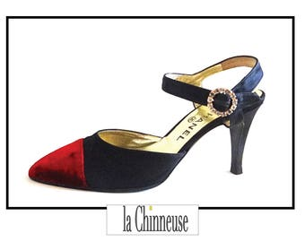 CHANEL SHOES / CHANEL shoes / pumps Chanel / Made in Italy / Gift for her / Shoes Pumps.