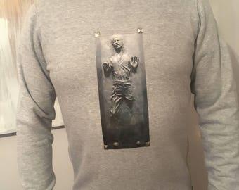 Star Wars style Han Solo designer sweatshirt