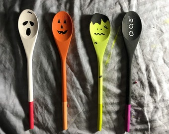 Halloween Decoration Spoons