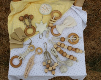 Custom Natural Materials Toy Order