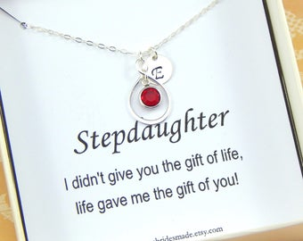 Stepdaughter Personalized Necklace,Gift for Step daughter,Stepdaughter Necklace,step daughter Bithday
