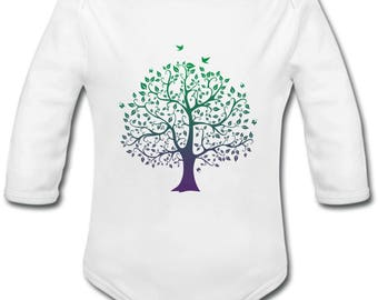 Tree of life - possibility of custom name onesie