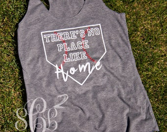 There's no place like home BASEBALL tank