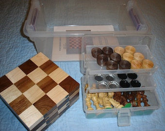 3-N-1 Board Games Kit