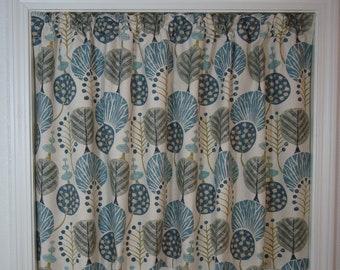 Custom Kitchen Cafe Curtain Modern Floral Cafe Curtain Cafe Kitchen Curtains