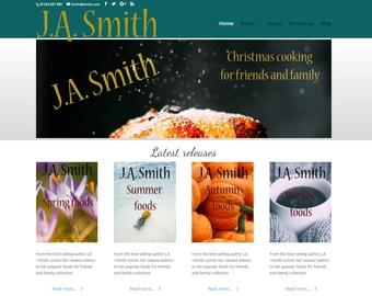 Author Wordpress theme - wordpress theme - Responsive WordPress Theme - Blog template - writer template - Wordpress blog theme