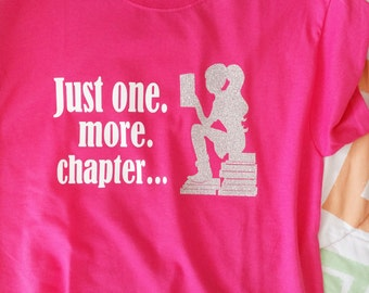 """TShirt - """"One more chapter"""""""