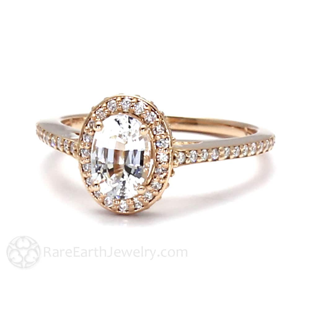 waterfall shop rings round engagement ring center gold