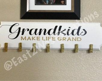 Handmade Grandparents Sign