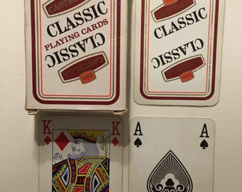 Castella, Classic playing cards boxed deck.