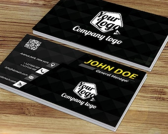 Business card  4 different color