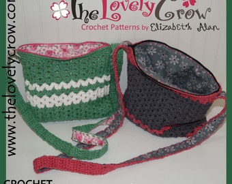 Crochet Purse Pattern MY DAUGHTER'S PURSE by The Lovely Crow