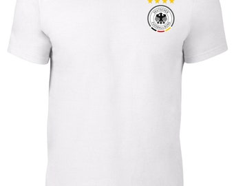 Germany World Cup 2018 T-Shirt Football Soccer Plus Sizes S-5XL Tee F3.3