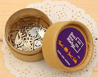 Set of 20 Pcs - Little Cute Animal,Paper Clips Bookmark Set Metal Cartoon Bookmark, Line Marker, Paperclip, Planner Organizer