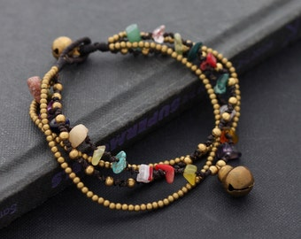 Colorful Layer Chain Bracelet