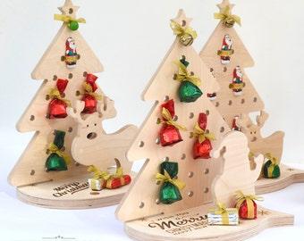 Christmas tree - Wooden christmas tree - Christmas gifts - Sanding tree - Christmas Decor - Xmas tree