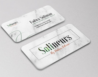 Custom Business Card | Custom Business Card Design | Business Card Design | Business Card Template | Business Cards