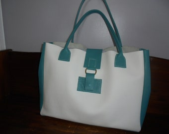 leather tote bag, leather tote, city bag