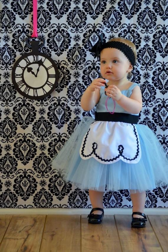 Alice In Wonderland Dress Retro Apron Dress For Girls Fun For
