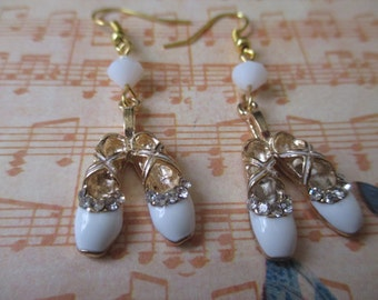 Ballerina Slipper Earrings