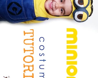 TUTORIAL - minion inspired costume - all sizes - See full Item Details  sc 1 st  Etsy & Minion costume | Etsy