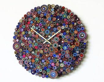 Large Wall Clocks, Art Sale, Wall Clocks, Contemporary Wall Clock