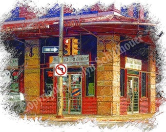 urban street art, Pittsburgh Art, Office Wall Art, Digital Photography, Giclee Print