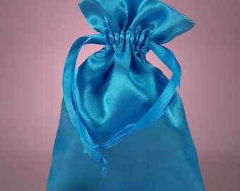 TAX SEASON Stock up 12 Pack  3 X4  inch Satin Drawstring Bags Inch Size Great For Gifts, Favors, Sachets, Weddings