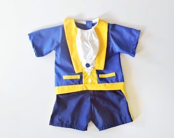 The Beast Costume - Beauty and the Beast costume - toddler costume - The Beast Costume - Prince Costume  - toddler prince costume